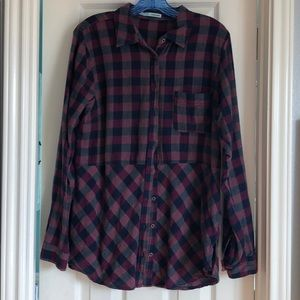 Maurice's Large Flannel top